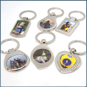 Printed Metal Keyrings
