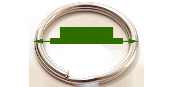 Split ring (20mm)