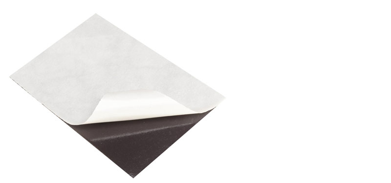 Flexible Magnetic Sheets A4 1mm with glue