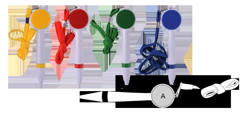 Printed neck pen