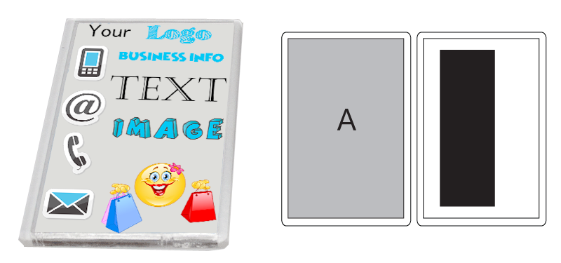 Printed Fridge Magnet (90mm X 58mm)
