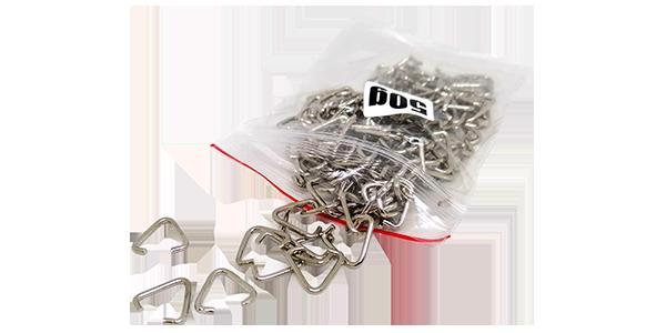 V-Clips 13mm bag of 50g, ~145pcs per bag, triangle attachment clips
