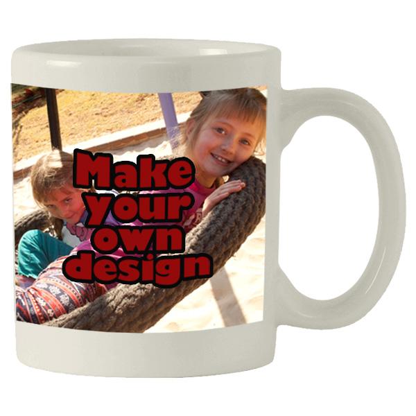 Printed Standard white mug with print